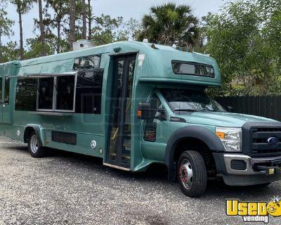 2013 Ford F550 35' Diesel Food Truck w/ BRAND NEW 2021 Professional Kitchen