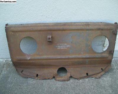 spare wheel panel 1947-1949