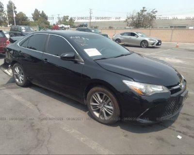 Salvage Black 2016 Toyota Camry