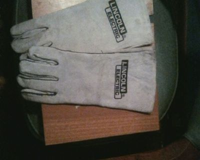 Lincoln electric grey welding gloves