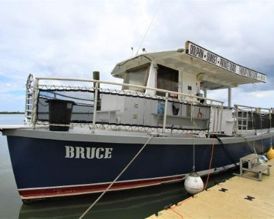 1964 Uniflite Converted Navy River Boat