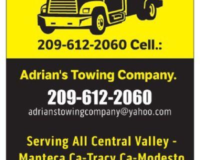 Adrians Towing Company and Transport 209-612-2060 Manteca ca modesto ca .