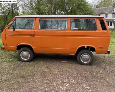 Project van 1985 Vanagon shell
