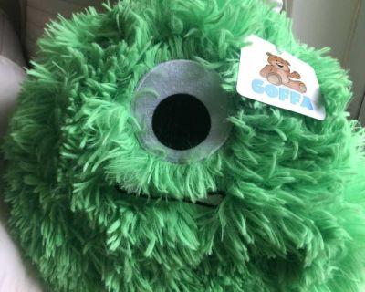 Plush green toy