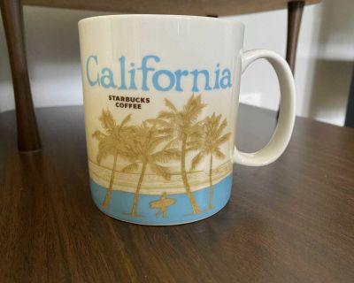 Assortment of Starbucks mugs EUC