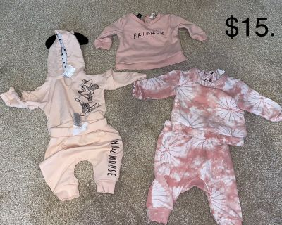 B/O 3M Baby Girl Clothes outfits, jogging suits