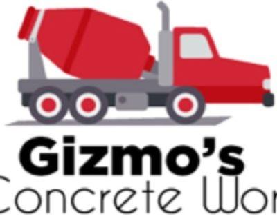 Gizmo's Concrete Work. Residential & Commercial Concrete Services in Alvin, Galveston, Santa Fe, Man