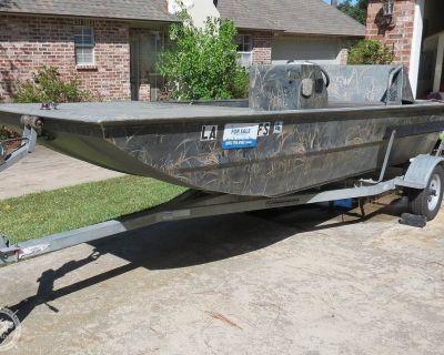 2007 16' Leblanc Boat Works 16 Custom Duck hunter