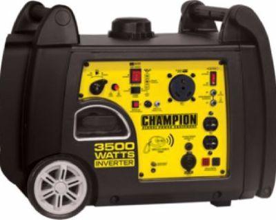 Champion 3500-Watt Remote-Start Inverter