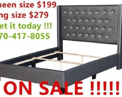 QUEEN AND KING SIZE BED FRAME ON SALE