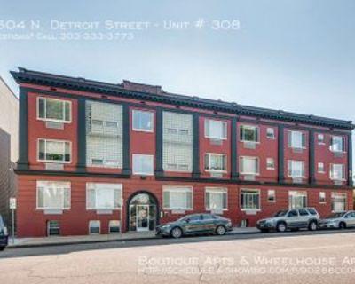 1504 Detroit St #308, Denver, CO 80206 1 Bedroom Apartment