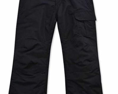 NEW Ended Arctic Quest Childrens Water Resistant Insulated Ski Snow Pants SIZE (14/16 - L) SFPF home Retails $60