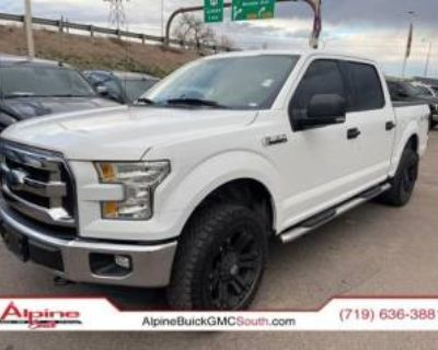 2015 Ford F-150 XLT SuperCrew 5.5' Box 4WD