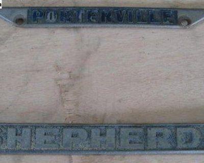 [WTB] Porterville Shepherd dealer license plate frame