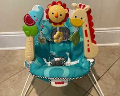 Fisher-Price 2-in-1 Sensory Stages Bouncer in Excellent Condition