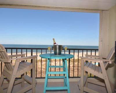Beautiful Direct Ocean Front Renovated Condo - 1 Bedroom 1.5 Baths - Sleeps 6 people - Midtown Ocean City