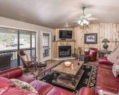 Nestled in the cool pines alongside the Cree Meadows Country Club golf course, B - Ruidoso
