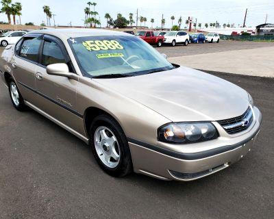 Used 2002 Chevrolet Impala 4dr Sdn LS