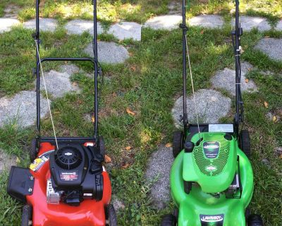 Self Propelled & Push Mowers For Sale (Read The Ad)