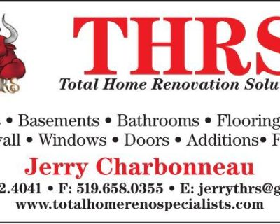 THRS Total Home Renovation...