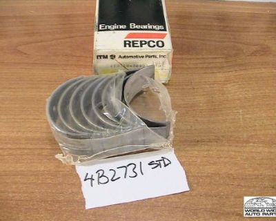 Peugeot 504d 505d Xd90 Xd2 Connecting Rod Bearings Standard Repco 1974-1982
