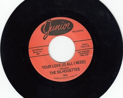 SILHOUETTES ~ Your Love Is All I Need*Mint-45 !
