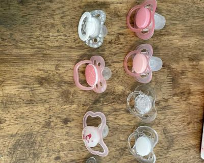 Free pacifiers