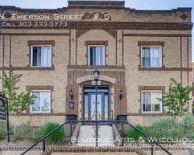 1220 N Emerson St #5, Denver, CO 80218 1 Bedroom Apartment