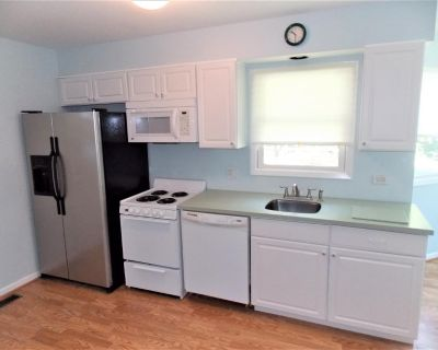 Kitchen Cabinets With Corian Counter And All Appliances