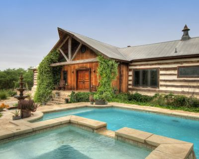 Secluded 2-home Luxury Estate on 11 Acres w Designer Interior #RELICSRANCH - Wimberley