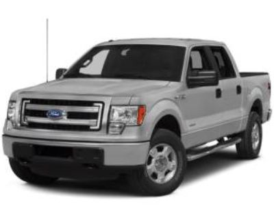 2014 Ford F-150 XLT SuperCrew 5.5' Box 4WD