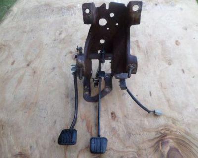 1979-1993 Mustang Clutch Pedal Assembly With Clutch Safety Switch Foxbody Pedals