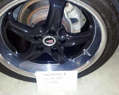 "6 Roh Drift R 18"" Wheels Black"