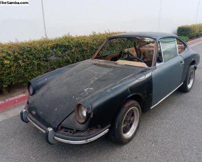 1967 Porsche 912 project roller