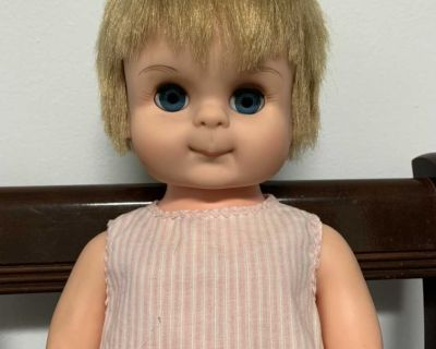 Vintage Reliable walking doll