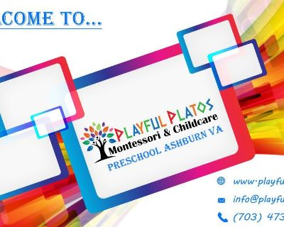 Montessori & Preschool Ashburn VA | Playful Platos