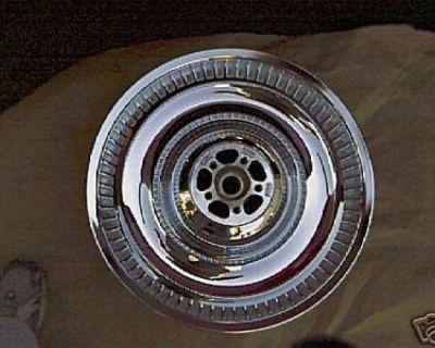 Harley Chrome Deuce Duece Rear Wheel Rim 17