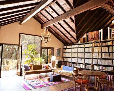 Musician's Rustic Laurel Canyon Cabin, Los Angeles, CA