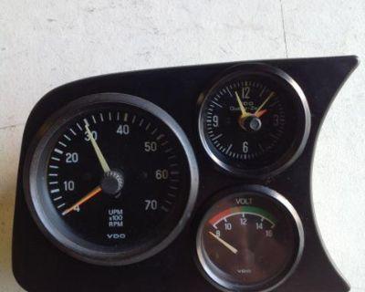 VW Bug Empi Dash Grille Gauge Gauge Cluster