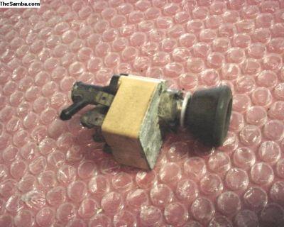 Wiper Switch 2 Speed - OEM Part # 141955517