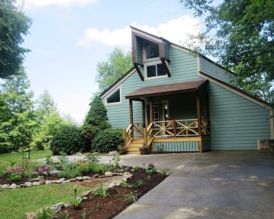 Mountain Vista Retreat/Great View/Hot Tub/4 Private Acres/Contact Free Check-In - Hendersonville