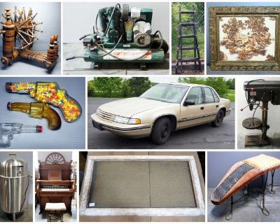 Another Man's Treasure And Tool Combined Estate Auction