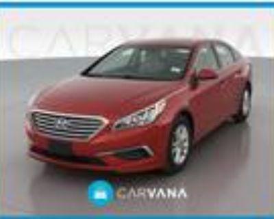 2017 Hyundai Sonata Red, 18K miles
