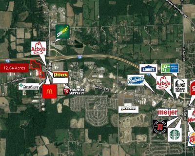 8.01 Acres Vacant Land for Sale in Ann Arbor