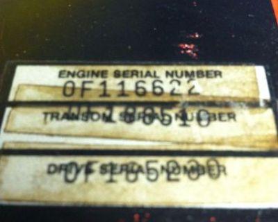 Mercruiser 5.0l V8 230 H.p. 4 Bbl