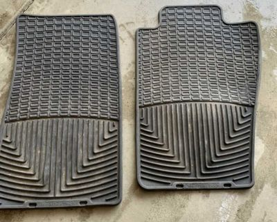 Weathertech JEEP wrangler 2dr all-weather rubber mats