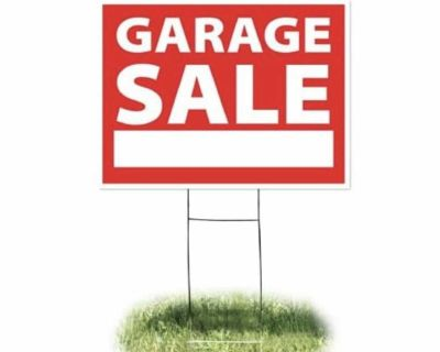 Garage Sale Friday and Saturday