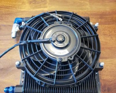 Cooling bypass with fan.