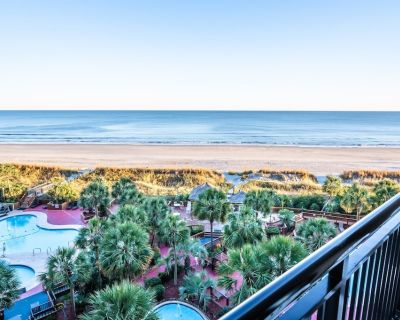 Ocean Front - Updated Kitchen, Tile Floors, New! - Windy Hill