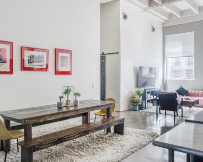 Stunning and Spacious DTLA Off-Site Loft with Private Outdoor Patio, Los Angeles, CA